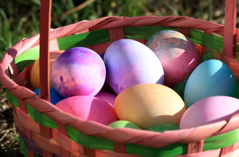 Pasqua in Alto Adige - Uova colorate